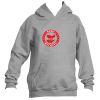 Youth Banner State Gray Pullover Hoodie