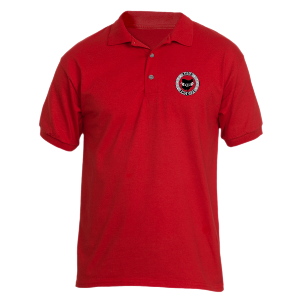 Banner State Red Polo