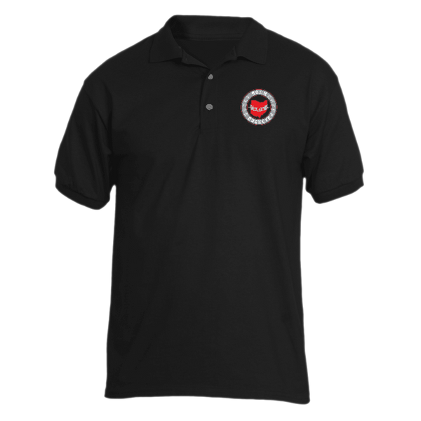 Banner State Black Polo