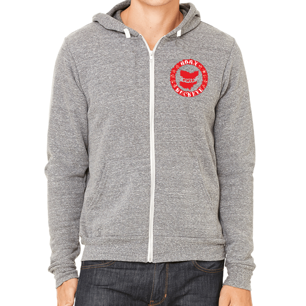 Toddler Banner State Gray Hoodie