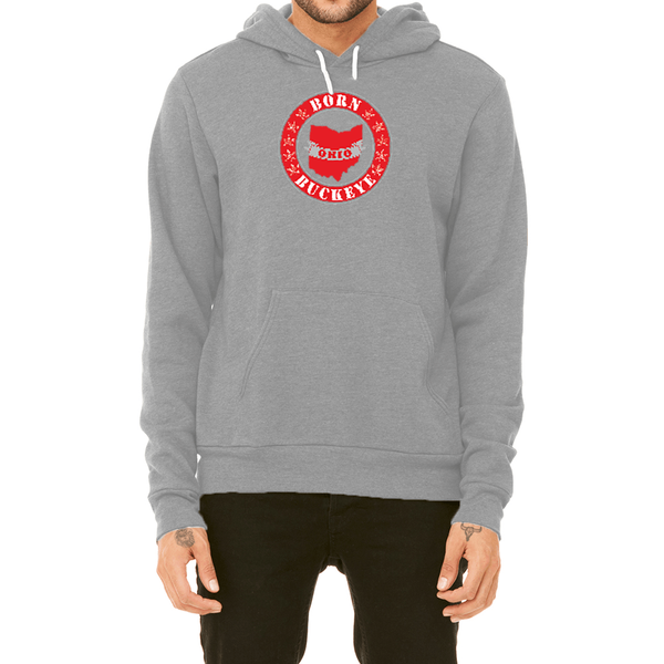 Banner State Heather Gray Pullover Hoodie