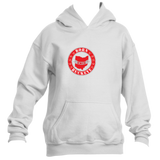 Youth Banner State White Pullover Hoodie