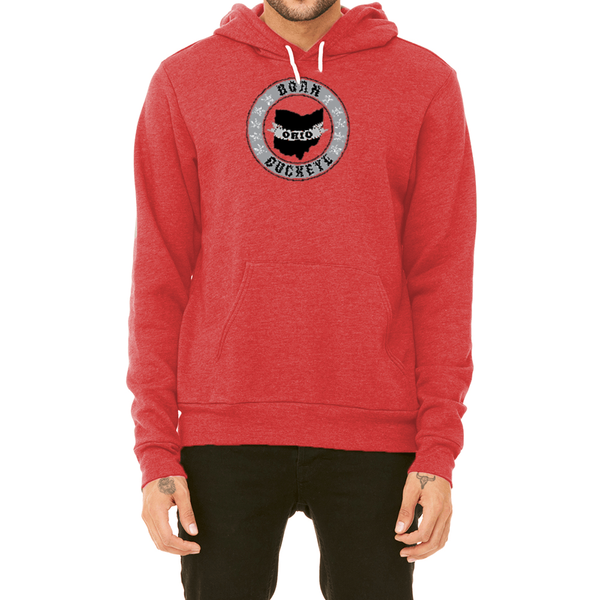Banner State Red Pullover Hoodie