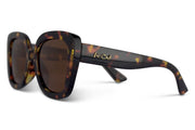Tortoise Brown Polarized Bellas Amber Lens