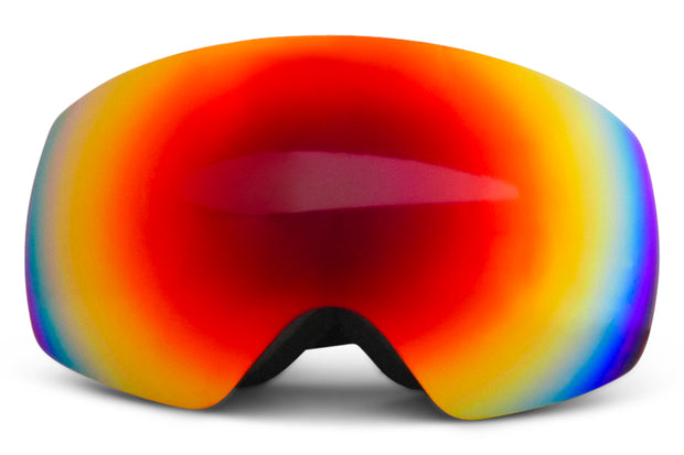 Black Expose Goggles - Red Lens