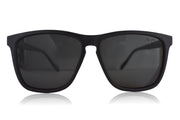 Black Polarized Flatliners Black Lens