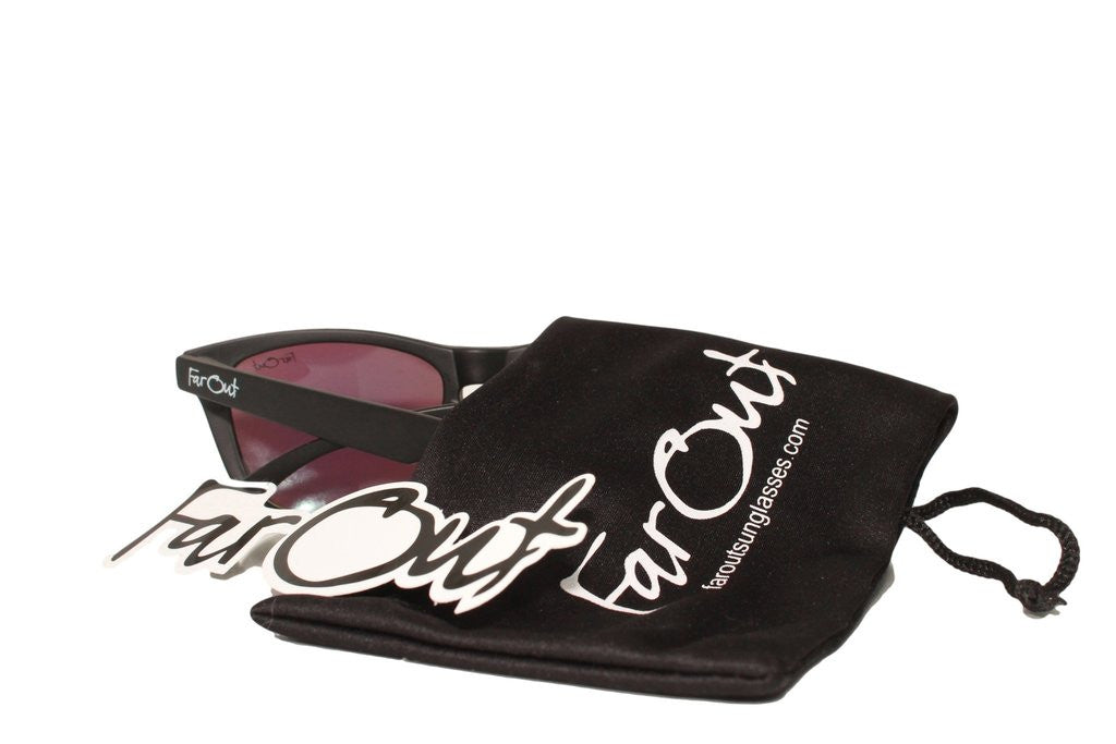 Black Polarized Mavericks - Black Lens