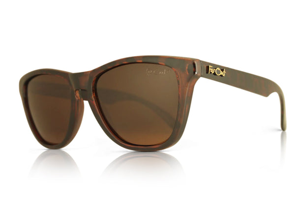 Tortoise Brown Polarized Premiums Amber Lens