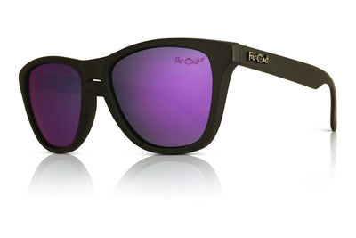 Black Polarized Premiums Purple Lens