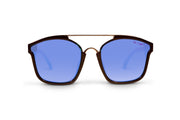 Black Polarized Bomboras Light Blue Lens