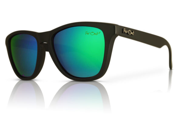 Black Polarized Premiums Green Lens