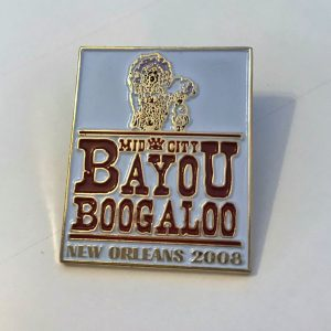 2008 Mardi Gras Indian Pin