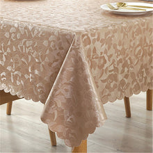 Load image into Gallery viewer, High Quality Waterproof Oilproof Tablecloth with Exquisite flowers home Decoration Kitchen table cloth rectangular Table Cover