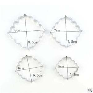 Blessing Frame Steel Cookie Cutter Sugarcraft  Decorating