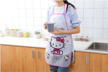 Load image into Gallery viewer, 1PC New Cartoon Cute Fruit Waterproof Cooking Resturant Kitchen Women PVC Apron Kids Funny ND 009