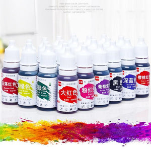13 colour 10ML Macaron Cream Food Coloring Ingredients