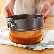 Load image into Gallery viewer, Kitchen Cake Baking Pan Round Shape Non-stick Cake Mold Steel Springform Pan Set Removable Bottom Cakes Decorating Bakeware Tool