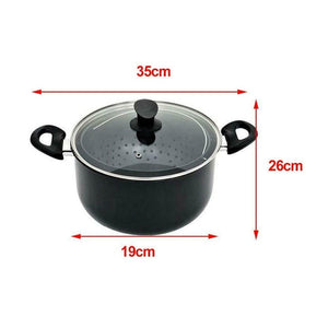 World's Greatest Pot Cooking Pan With Strainer Water Filter Non-stick Pot Drain Basket Stainless Steel Pot Kitchen Tool Cookware