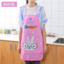 Load image into Gallery viewer, Kitchen Apron Rabbit Printing Kids Aprons BBQ Bib Apron For Women Cooking Baking Restaurant Apron Home Cleaning Tools 50*70cm