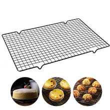 Load image into Gallery viewer, Steel Grid Baking Tray Nonstick Cooling Rack Grill For Biscuit Cookie Pie Bread Cake Baking Rack Holder Kitchen Tools
