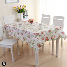 Load image into Gallery viewer, Waterproof Oil Proof PVC Table Cloth Cover Home Dining Kitchen Tablecloth Decor Size 106*152 CM/137*183 CM #260625