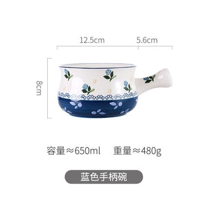 Oneisall Japanese Style  Dinner Porcelain Ceramics Tableware