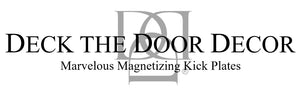 Deck the Door Decor Magnetic Door Kick Plates