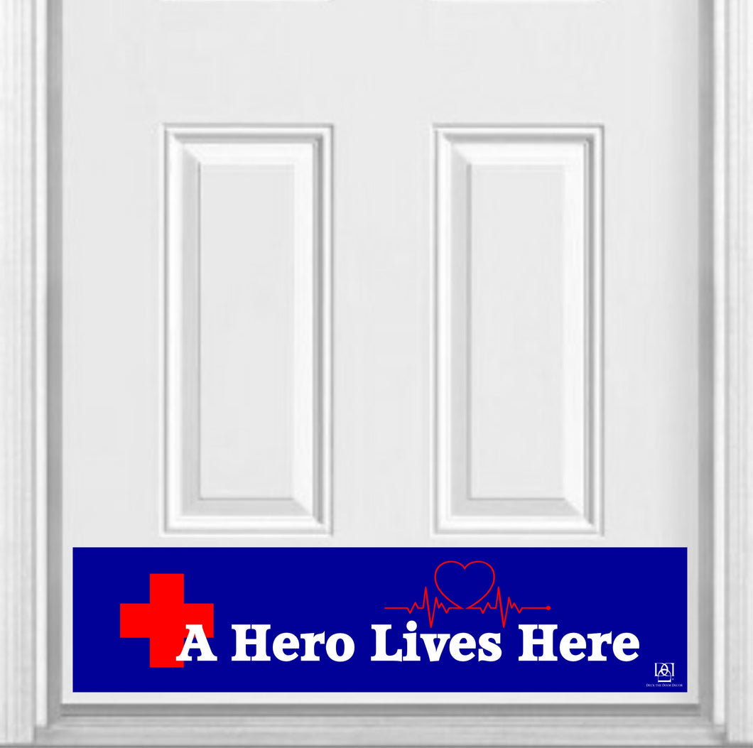 Healthcare Heroes Magnetic Kick Plate
