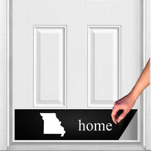 "Load image into Gallery viewer, Home State Magnetic Door Sign Kick Plate, 8"" x 34"" and 6"" x 30"" Size Options"