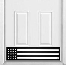 "Load image into Gallery viewer, Patriot Magnetic Door Sign Kick Plate, 8"" x 34"" and 6"" x 30"" Size Options"