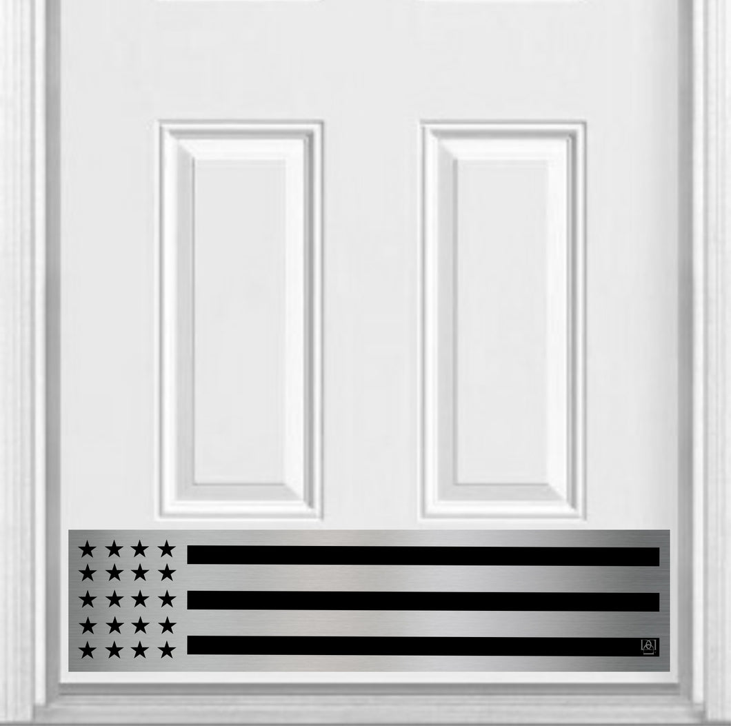Patriot Magnetic Door Sign Kick Plate, 8