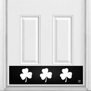 "Shamrock Magnetic Kick Plate for Steel Door, 8"" x 34"" and 6"" x 30"" Size Options"