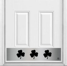 "Load image into Gallery viewer, Shamrock Magnetic Kick Plate for Steel Door, 8"" x 34"" and 6"" x 30"" Size Options"