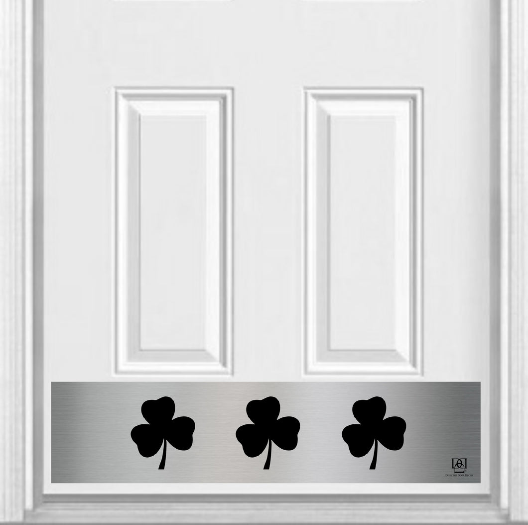 Shamrock Magnetic Kick Plate for Steel Door, 8