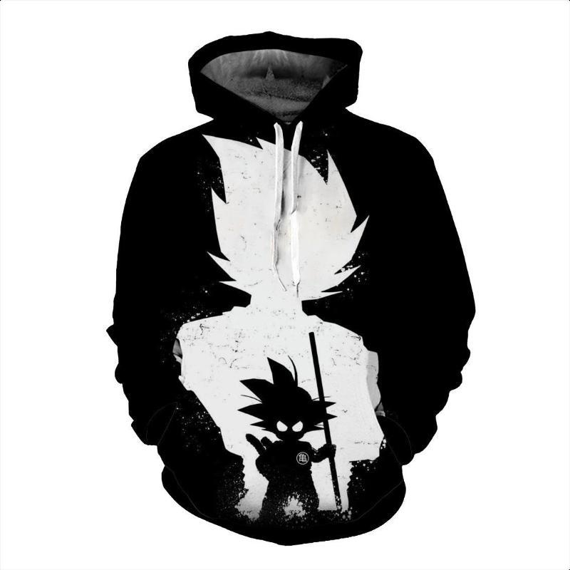 Dragon Ball Z Goku Shadow Hoodie