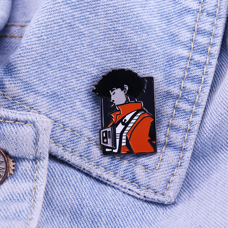Cowboy Bebop Spike Pin