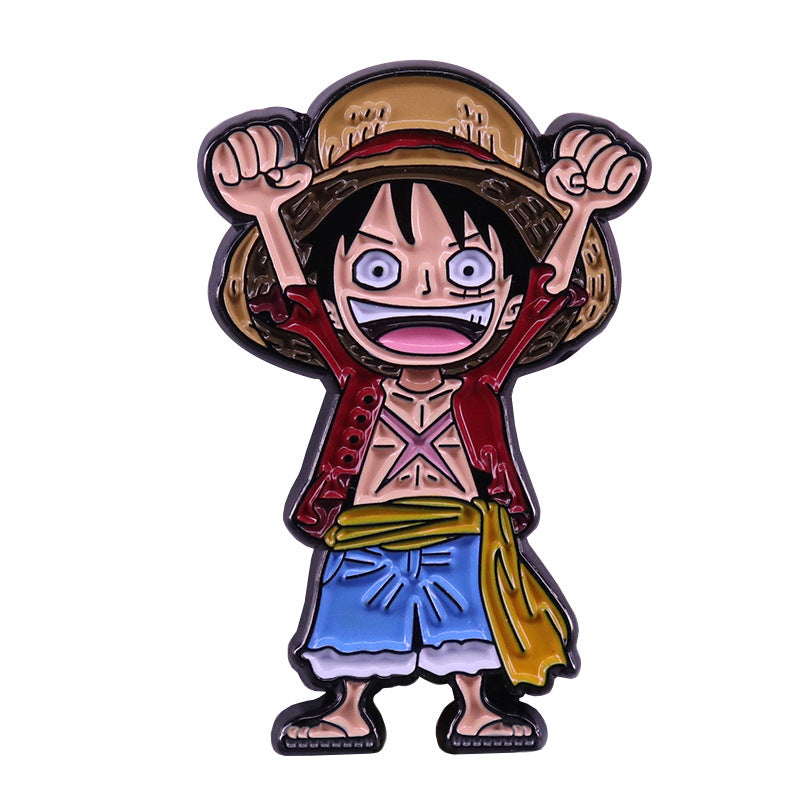 One Piece Luffy Pin