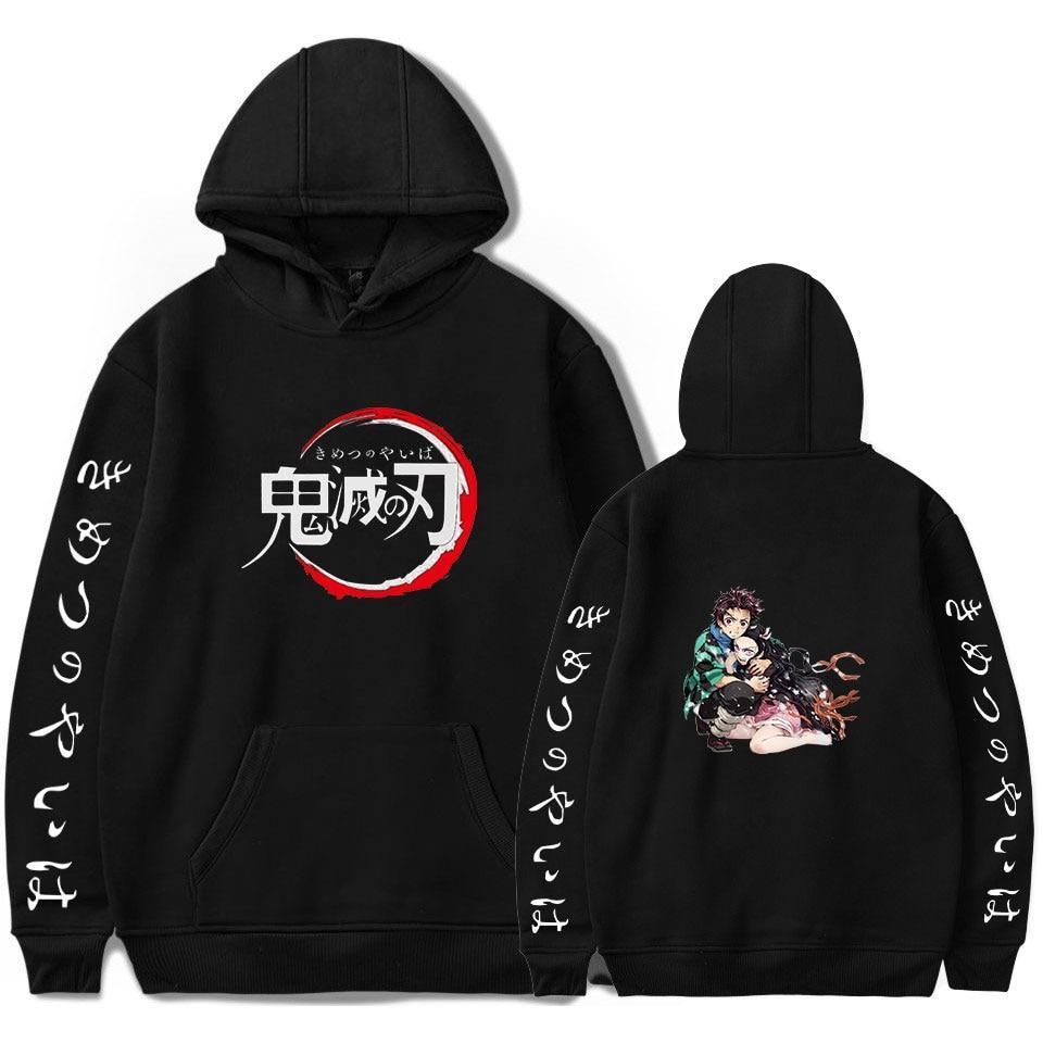 Demon Slayer Tanjiro and Nezuko Hoodie