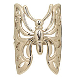 Large Openwork Butterfly Wraparound Ring