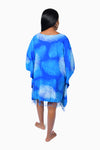 Blue & White (Sky) - Handmade Batik Cover Up