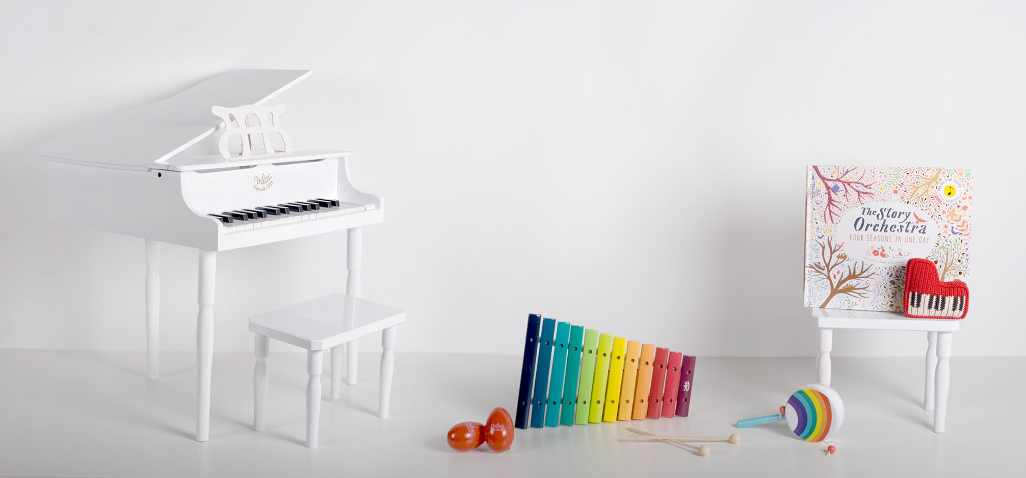 Toy musical instruments.
