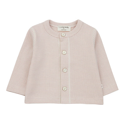1+ In The Family Baby Agathe T-shirt With Thin Stripes