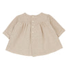 1+ In The Family Baby Mirelle Dress Cream