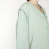 7115 By Szeki Spring Quilted Jacket Aqua Green