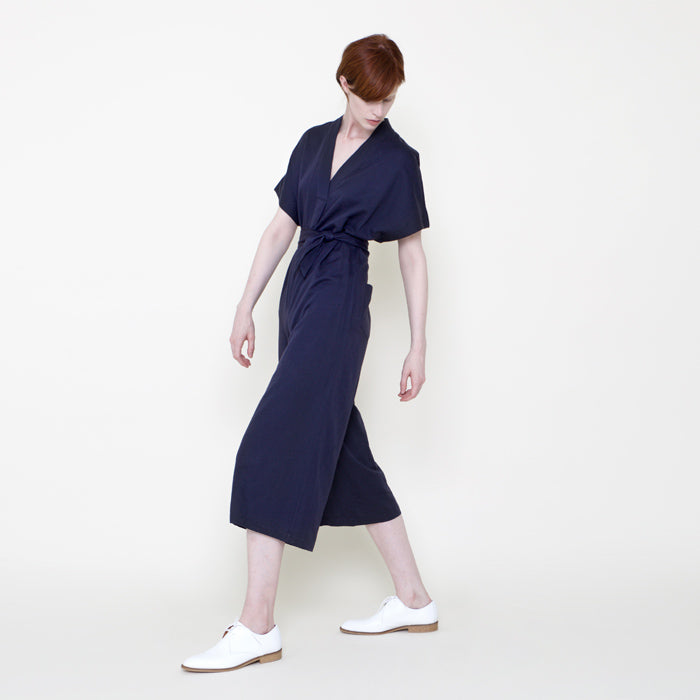 7115 by Szeki Hanbok Jumpsuit Navy - Advice from a Caterpillar