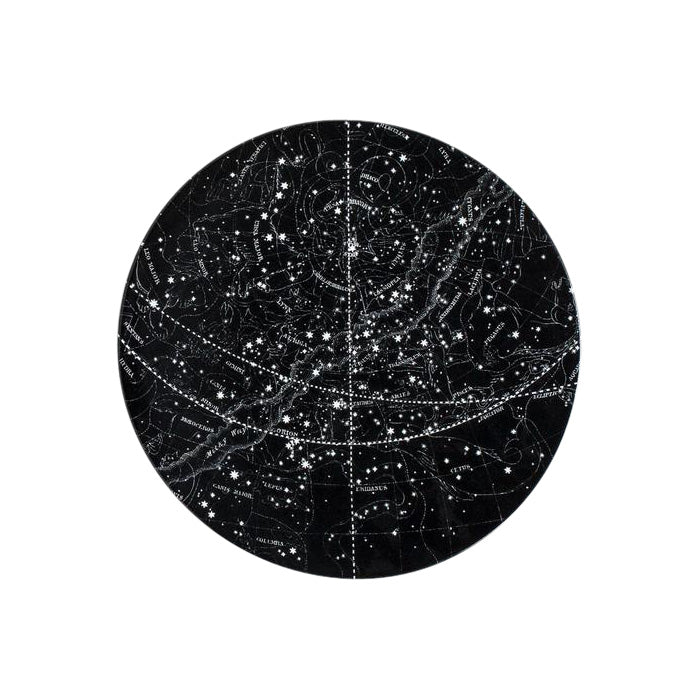 Astier De Villatte Constellation Series Visible Heavens Plate - Advice from a Caterpillar