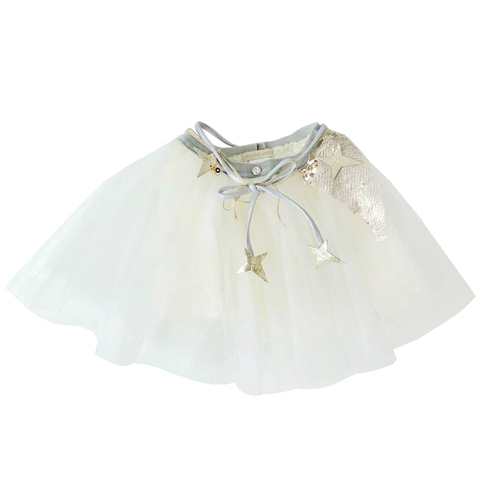 Atsuyo Et Akiko Baby And Child Miss Eye Tutu With Platinum Details Ivory White