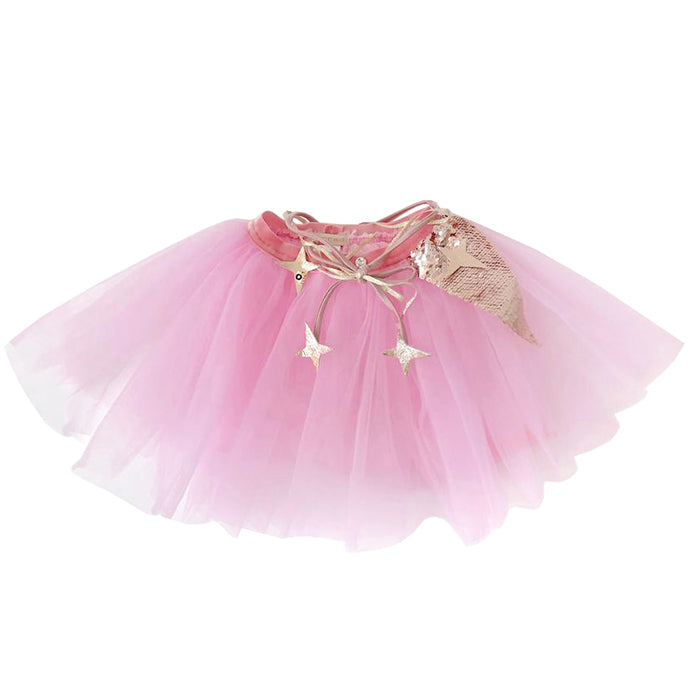 Atsuyo Et Akiko Baby And Child Miss Eye Tutu With Rose Gold Details Pink