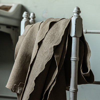 Autumn Paris Small Honeycomb Towel Kit Earth Taupe