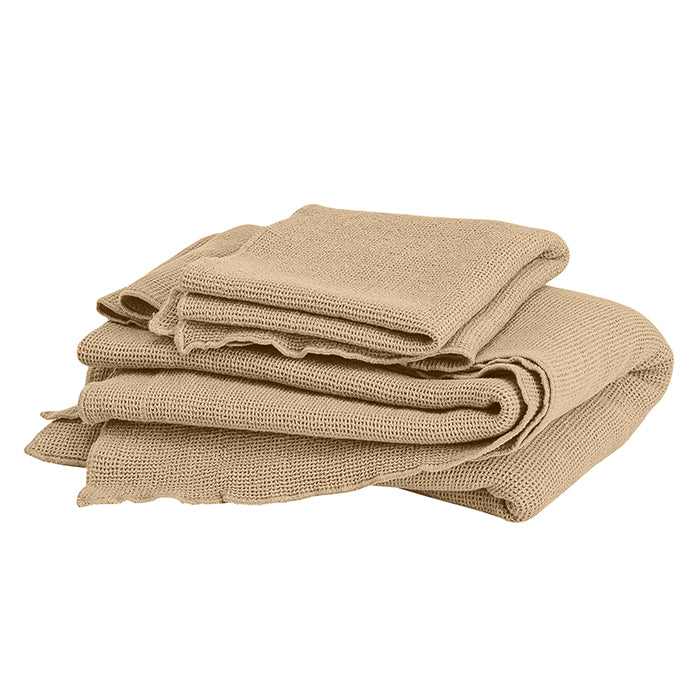 Autumn Paris Small Honeycomb Towel Kit Sand Beige